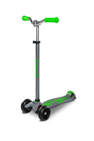 Scooter Maxi Deluxe Pro Gray-Green