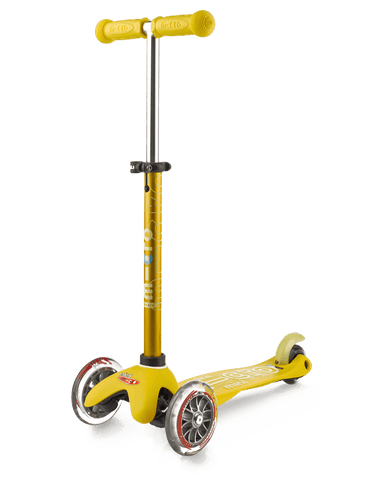 Scooter Mini Deluxe Amarillo
