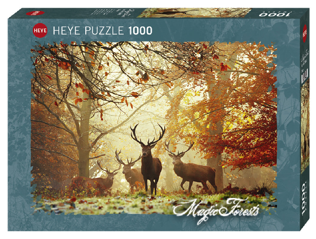 Puzzle 1000 pzs. Magic Forests, Stags