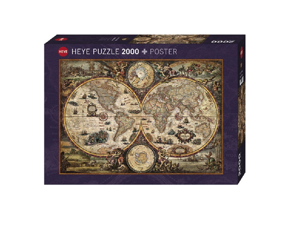 Puzzle 2000 pzs. ZIGIC, Vintage World