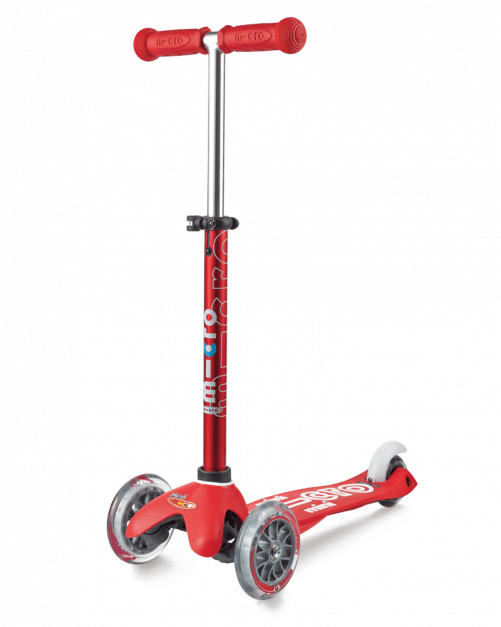 Scooter Mini Deluxe Rojo