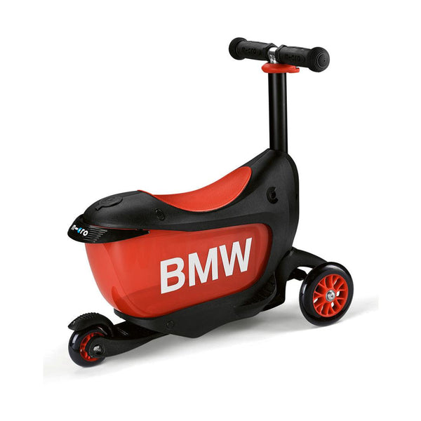 Scooter Mini2Go BMW Negro/Rojo