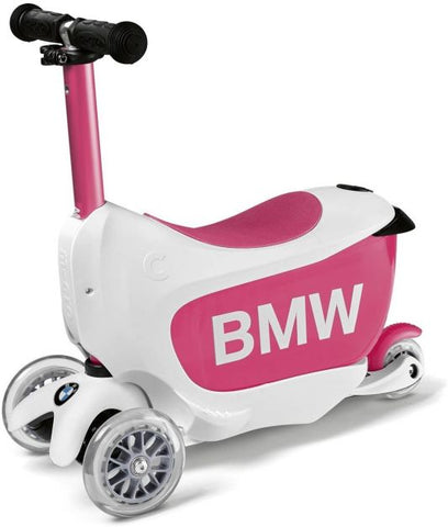Scooter Mini2Go BMW Blanco/Rosado