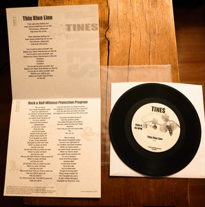 7 Inch Record:  Tines - Self Titled EP (black)