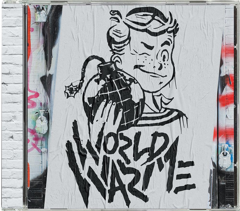 CD:  World War Me - Self Titled