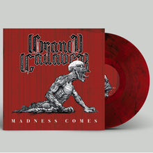 Load image into Gallery viewer, PreOrder/Release - 12 February 21.  Grand Cadaver - Madness Comes (red/black marble record)