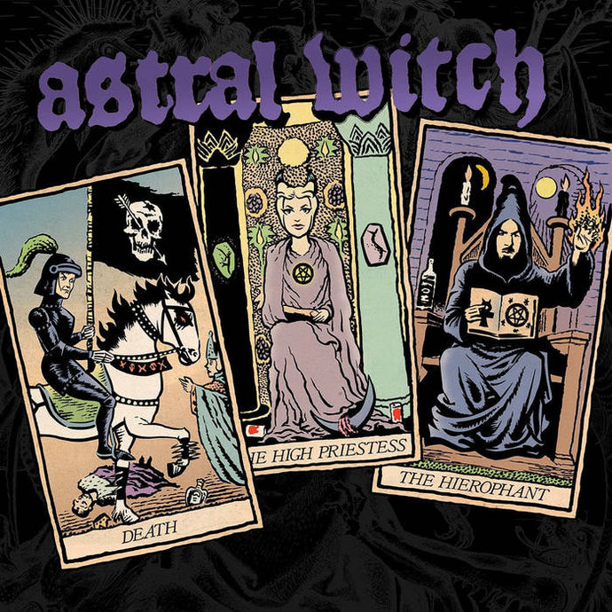 Astral Witch - Self Titled (black & white swirled record)