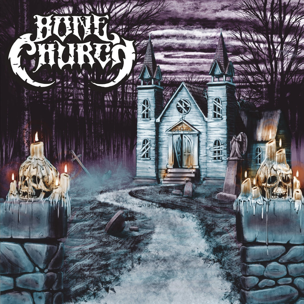PreOrder/RIPLP:  Bone Church - Self Titled (color merge record)