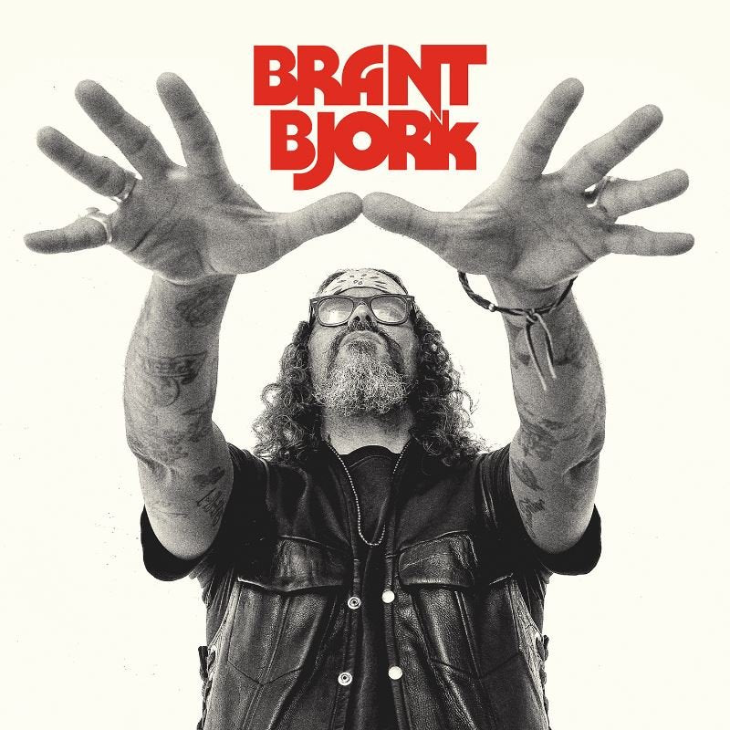 HPS-129:  Brant Bjork - Self Titled (compact disc)