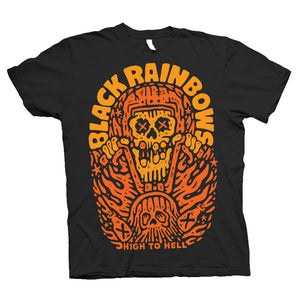 HPS:  Black Rainbows #15 - Black (shirt)