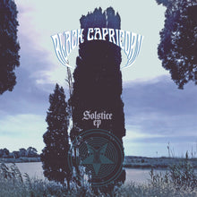 Load image into Gallery viewer, PreOrder/DHU:  Black Capricorn - Solstice (blue/white swirl record)