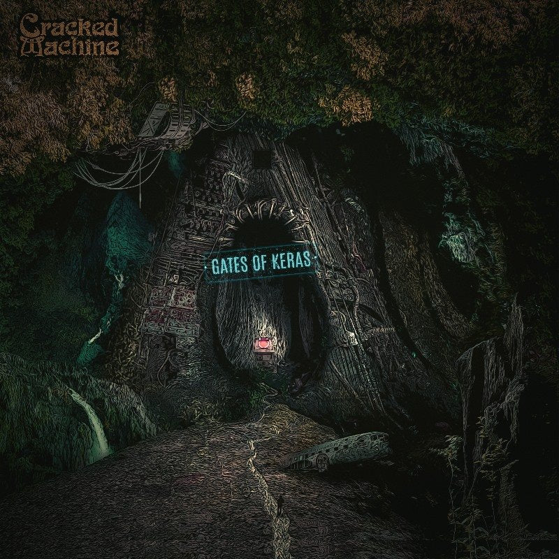 Cracked Machine - Gates of Keras (light blue record) *Import
