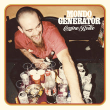 Load image into Gallery viewer, Presale:  Mondo Generator - Cocaine Rodeo (ultra limited transparent red record) *Import