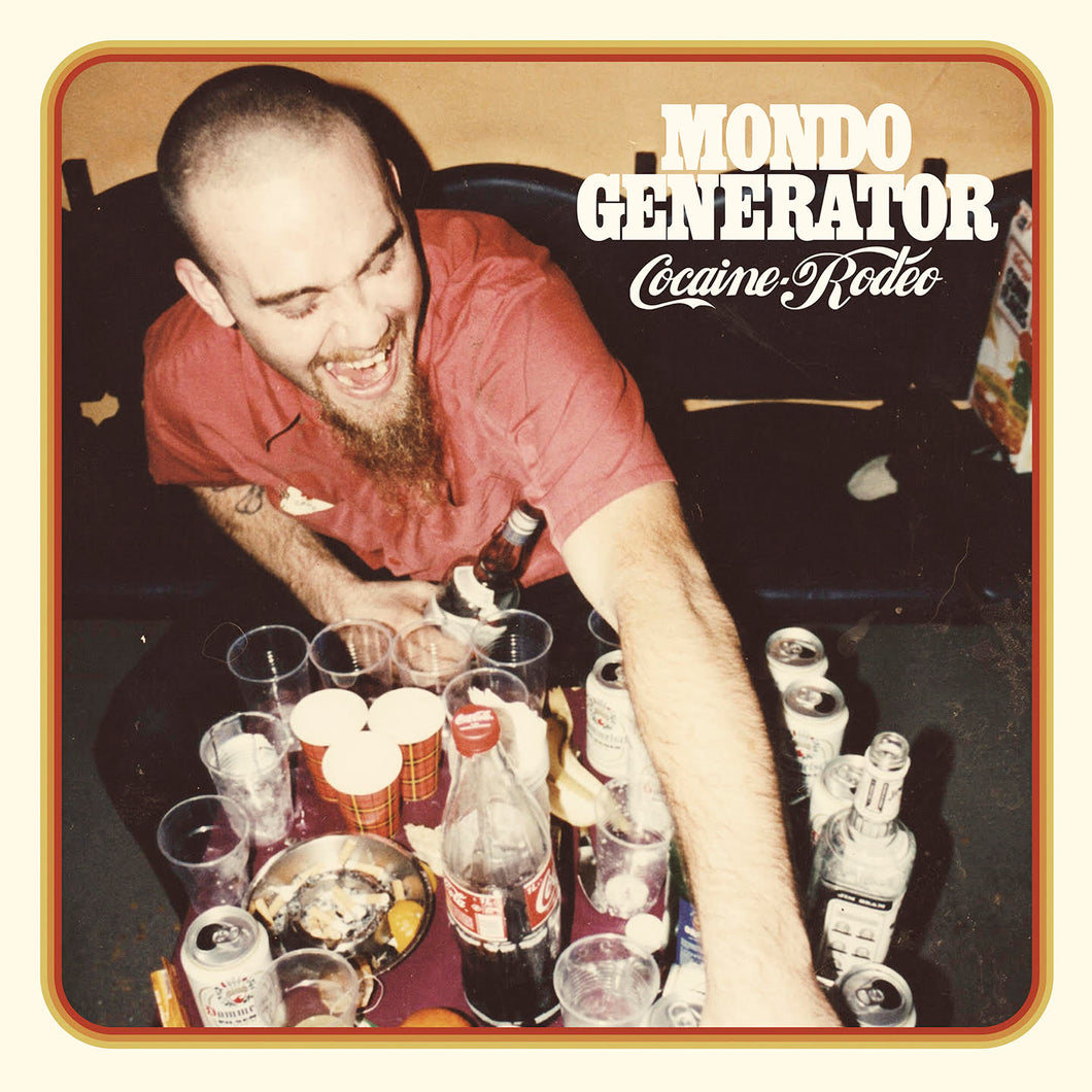 Presale:  Mondo Generator - Cocaine Rodeo (ultra limited transparent red record) *Import