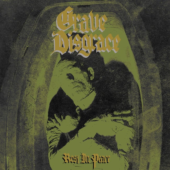 PreOrder/BlackFR:  Grave Disgrace - Rest In Peace (black seed edition record)