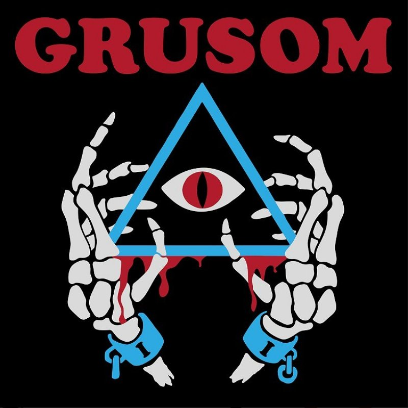 ART-052:  Grusom II (red/blue marbled record) *Band Edition