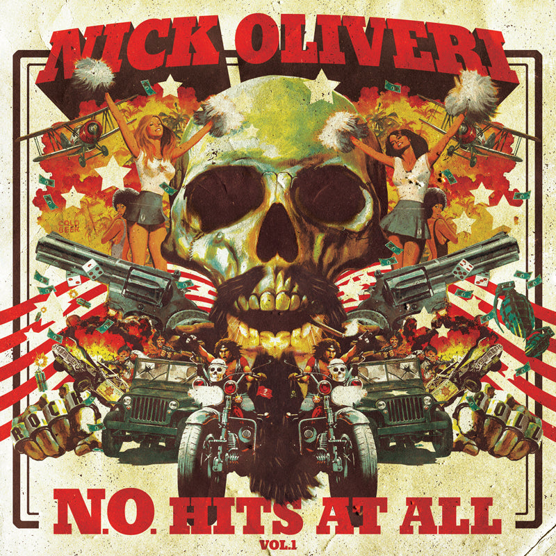 HPS-046:  Nick Oliveri - N.O. Hits at All Volume 1 (compact disc)