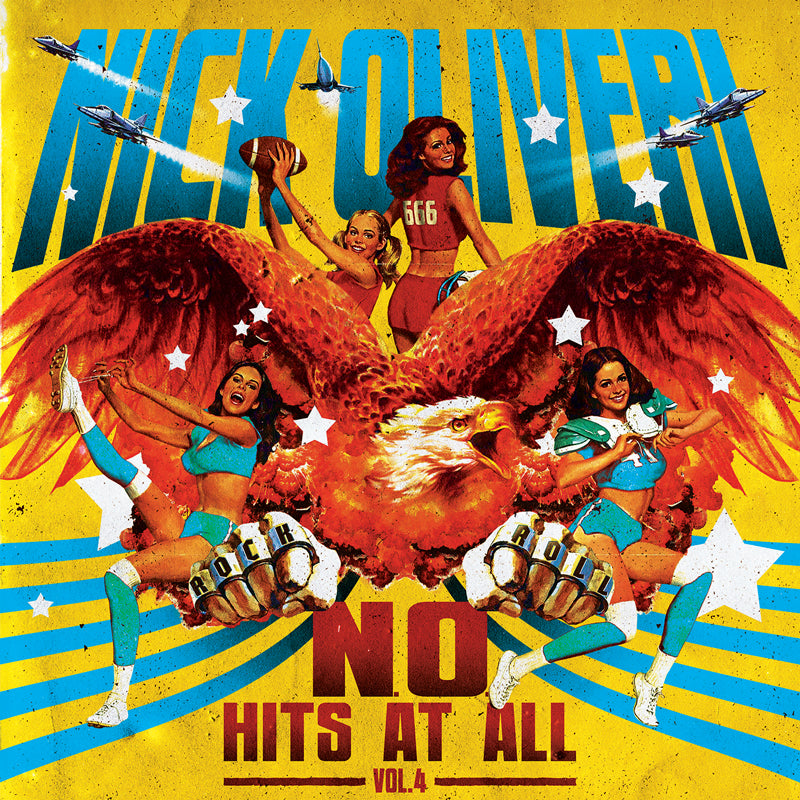 HPS-069:  Nick Oliveri - N.O. Hits at All Volume 4 (record)