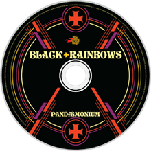 Load image into Gallery viewer, HPS-073v2:  Black Rainbows - Pandemonium (compact disc)