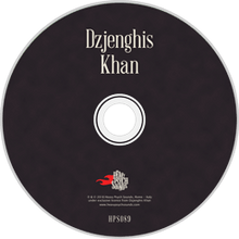 Load image into Gallery viewer, HPS-089:  Dzenghis Khan - Self Titled (compact disc)