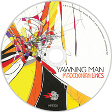 Load image into Gallery viewer, HPS-105:  Yawning Man - Macedonian Lines (compact disc)