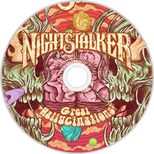 Load image into Gallery viewer, HPS-111:  Nightstalker - Great Hallucinations (compact disc)