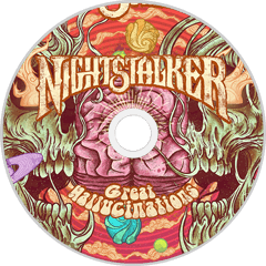 HPS-111:  Nightstalker - Great Hallucinations (compact disc)