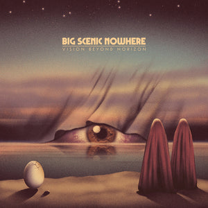 HPS-114:  Big Scenic Nowhere - Vision Beyond Horizon (ultra limited blue/black splatter record)