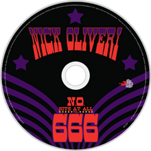 Load image into Gallery viewer, HPS-120:  Nick Oliveri - N.O. Hits At All Vol. 666 (compact disc)