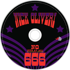 HPS-120:  Nick Oliveri - N.O. Hits At All Vol. 666 (compact disc)