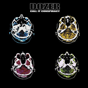 HPS-124:  Dozer - Call It Conspiracy (ultra limited double A/B yellow/blue record) *Import