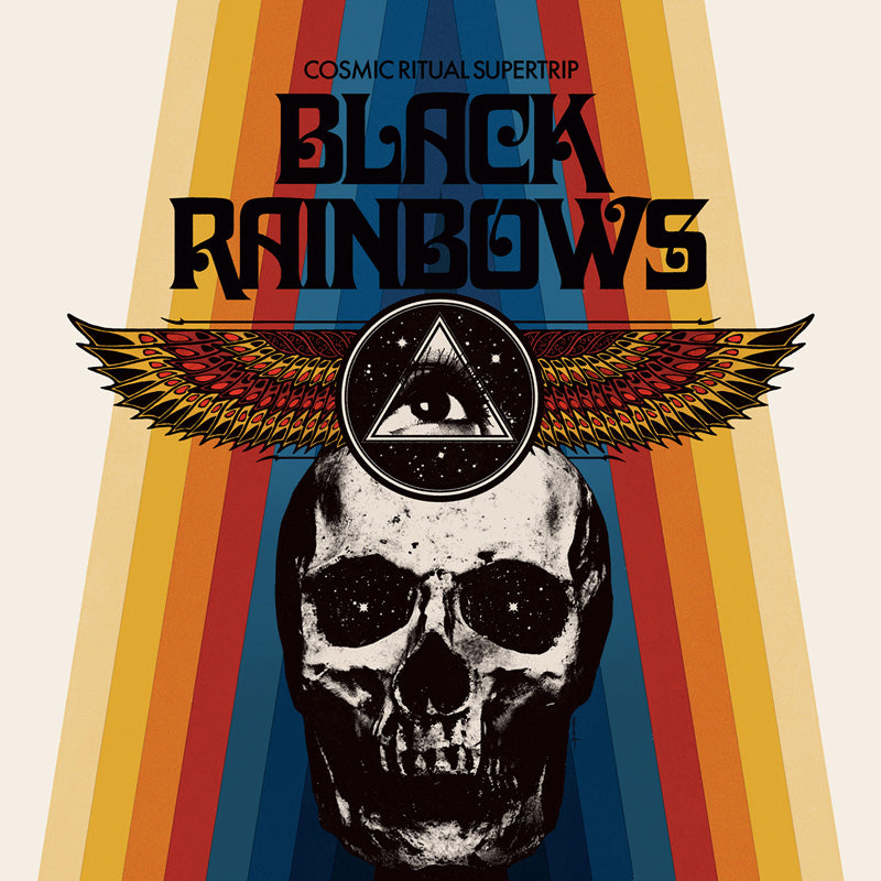 Black Rainbows - Cosmic Ritual Supertrip (ultra limited half yellow / half blue record) *Import