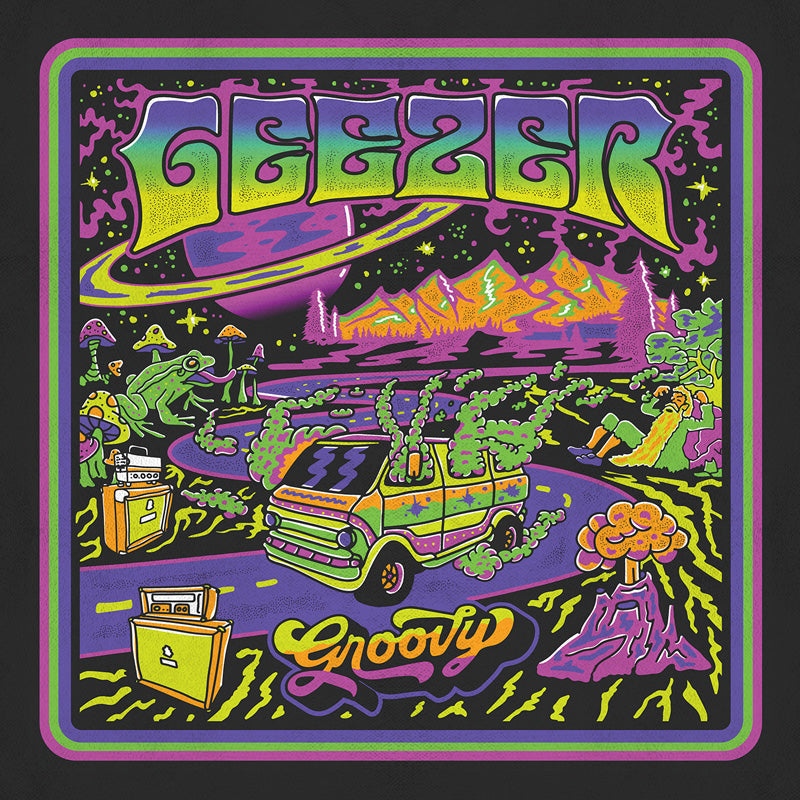Geezer - Groovy (ultra limited yellow fuchsia record) *Import