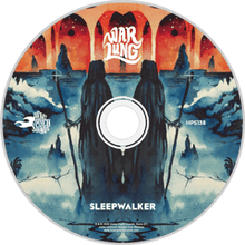 Load image into Gallery viewer, HPS-138:  Warlung - Sleepwalker (compact disc)