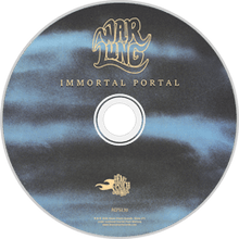 Load image into Gallery viewer, HPS-139:  Warlung - Immortal Portal (compact disc)