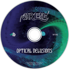 Load image into Gallery viewer, HPS-140:  Warlung - Optical Delusions (compact disc)
