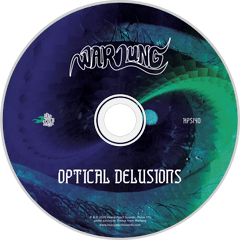HPS-140:  Warlung - Optical Delusions (compact disc)