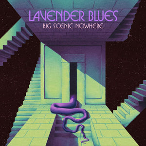 HPS-145:  Big Scenic Nowhere - Lavender Blues (compact disc)