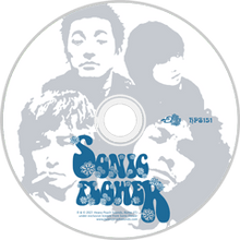 Load image into Gallery viewer, HPS-151:  Sonic Flower - Self Titled (compact disc)