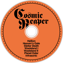 Load image into Gallery viewer, PreOrder/Release 19 March 21. HPS-158:  Cosmic Reaper - Self Titled (compact disc)