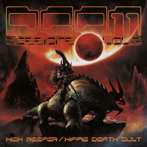 PreOrder/Release 14 May 21.  HPS-168:  High Reeper & Hippie Death Cult - Doom Sessions Volume 5 (compact disc)