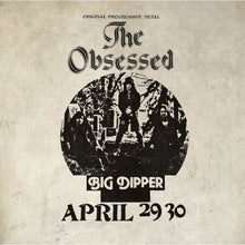 Load image into Gallery viewer, BlueFR-016:  The Obsessed - Live At Big Dipper (silver record)