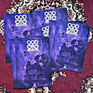 PreOrder/DHU-028:  Son of the Morning - Self Titled (half milky clear/half white with purple & black splatter record)