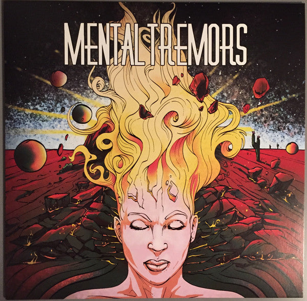 CTR-004:  Mental Tremors - Self Titled (mind clearance edition - clear record)