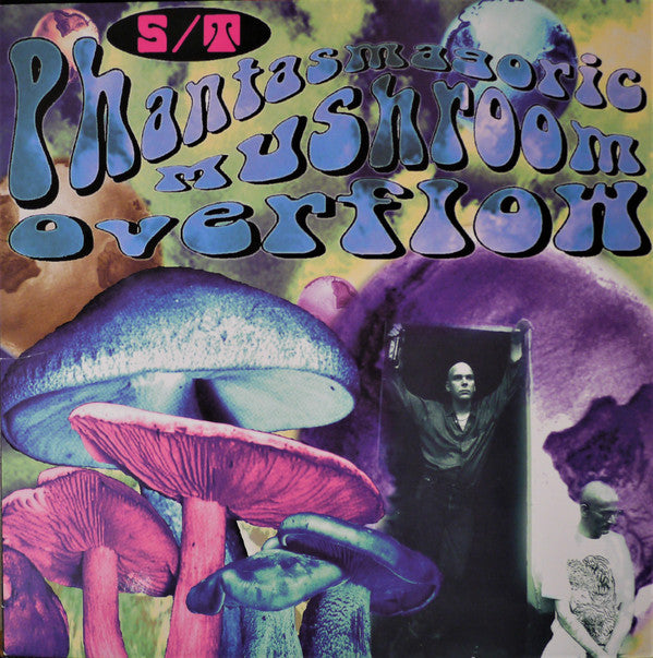 TCP Exclusive Record:  S/T - Phantasmagoric Mushroom Overflow (transluscent dark blue)