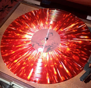 Record:  Red Mesa - The Path to the Deathless (red/white marble/splatter)
