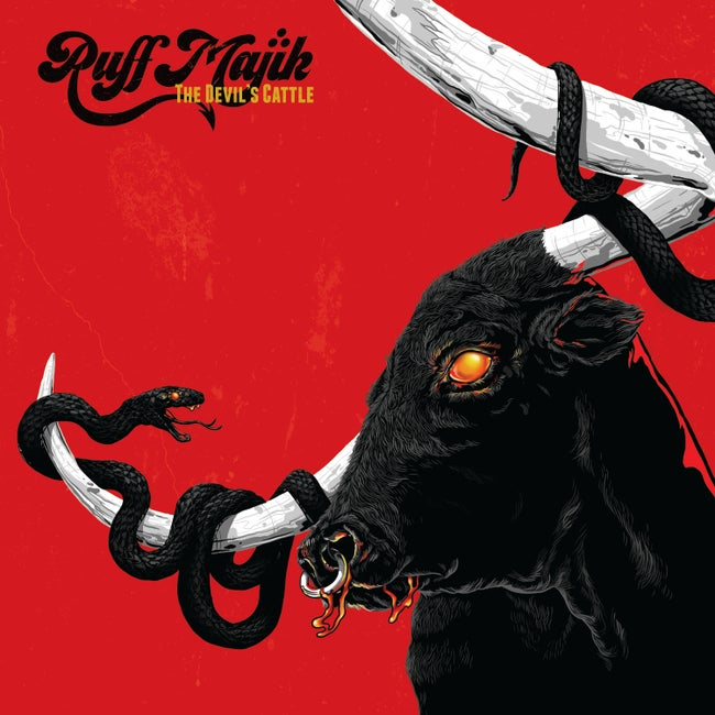 PreOrder:  Ruff Majik - The Devil's Cattle (yellow with red splatter record)