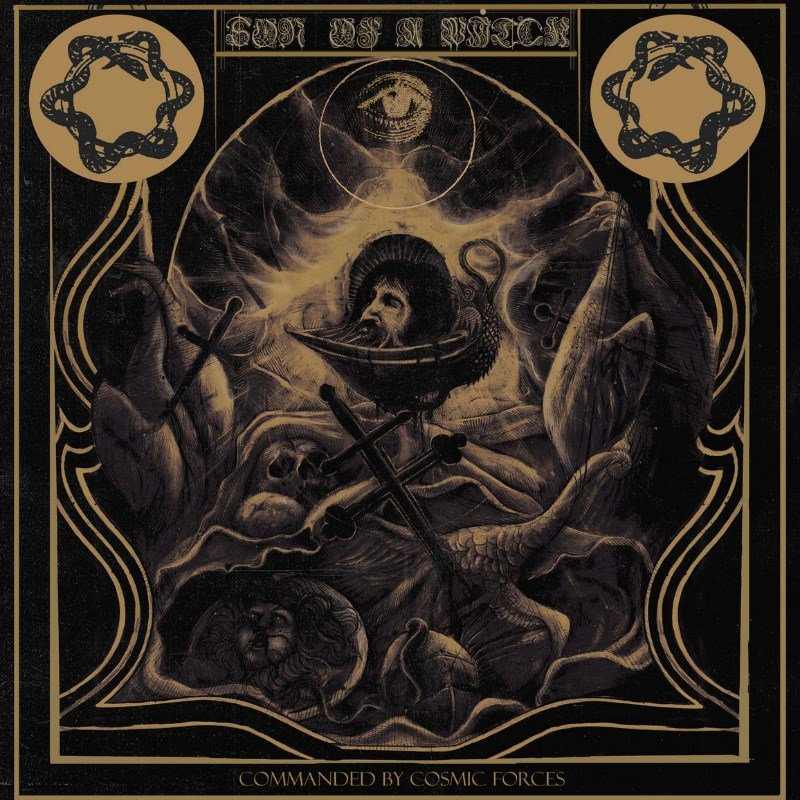 ART-084:  Son of a Witch - Commanded By Cosmic Forces (clear + CD)