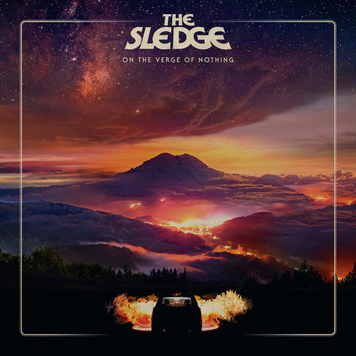 ART-047:  The Sledge - On the Verge of Nothing (orange record) *Mail Order Edition