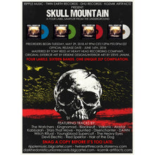 Load image into Gallery viewer, ART:  Various Artists - Skull Mountain (double clear) *Kozmik Artifactz Edition